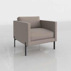 TrnkNyc Truss Armchair