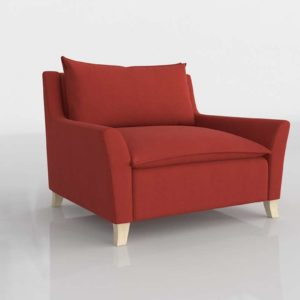 Westelm Bliss Down Filled Chair And A Half Grapefruit