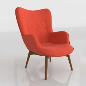 Wayfair Canyon Vista Mid Century Lounge Chair