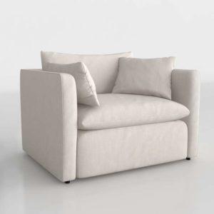 Wayfair Cameron Armchair Linen