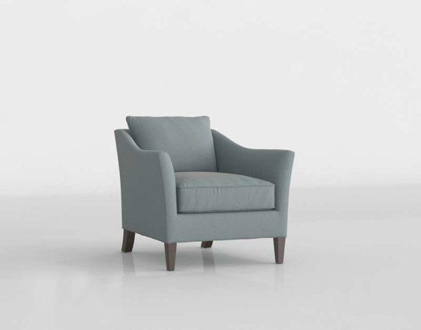 Crateandbarrel Keely Chair Newport Cloud