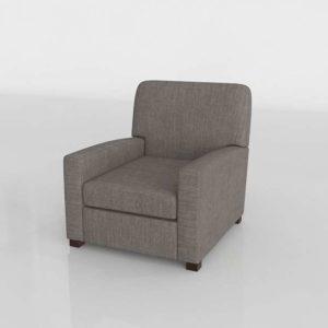 Glancing Eye 3D Model Armchair 35