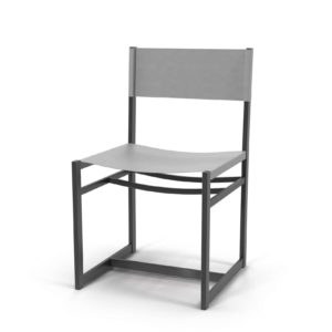 Williams-Sonoma Navarro Metal Chair Dove