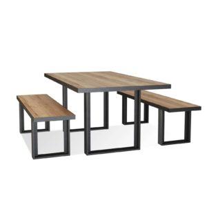 WestElm Steel Dining Table