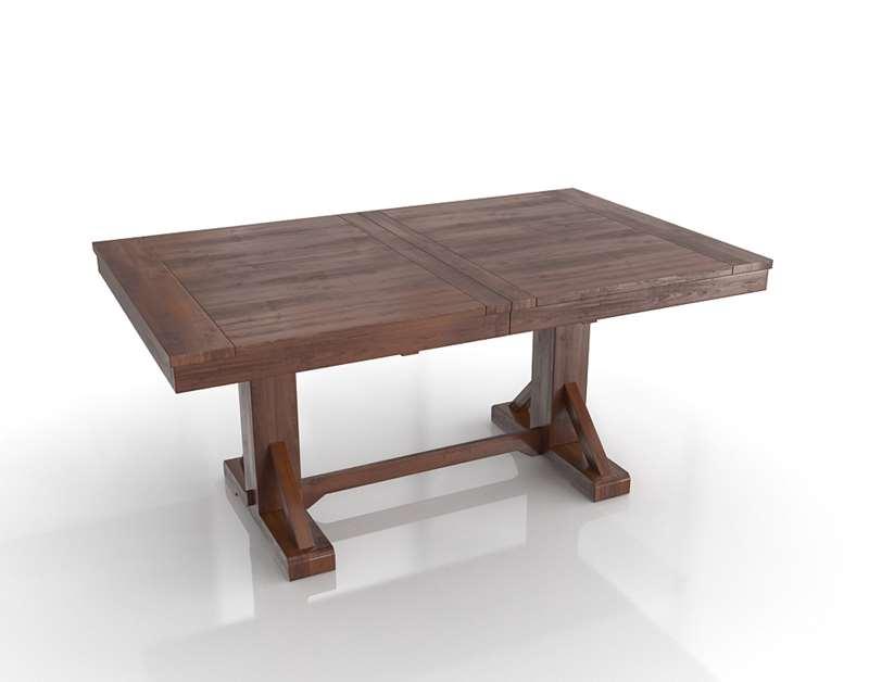 WorldMarket Mahogany Verona Trestle Table