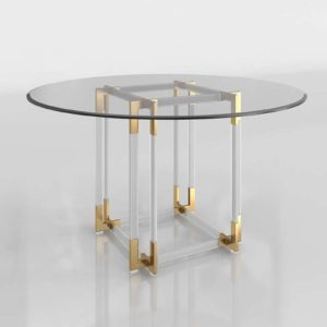 WayFair Elisabeth Dining Table Bronze