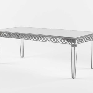 Zgallerie Sophie Mirrored Dining Table