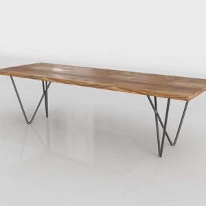 3D Dylan Dining Table Cb2