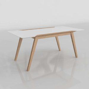 Muncy Dining Table Wayfair 3D Furniture
