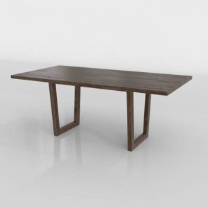Westelm Logan Industrial Expandable Dining Table