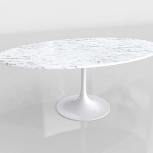 Wayfair Julien Artificial Marble Round Dining Table