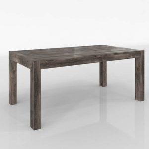 Westelm Modern Reclaimed Wood Dining Table