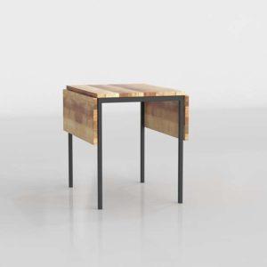 Westelm Box Frame Drop Leaf Dining Table