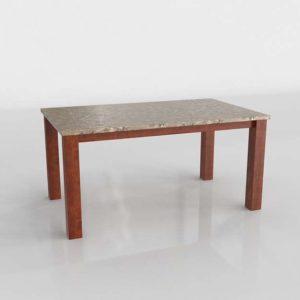 Wayfair Figgs Watford Marble Top Dining Table