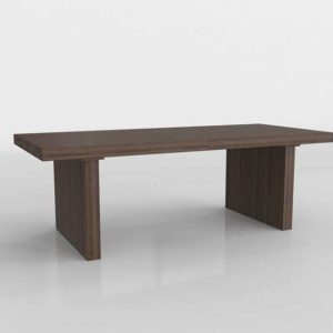Westelm Emmerson Reclaimed Wood Expandable Dining Table