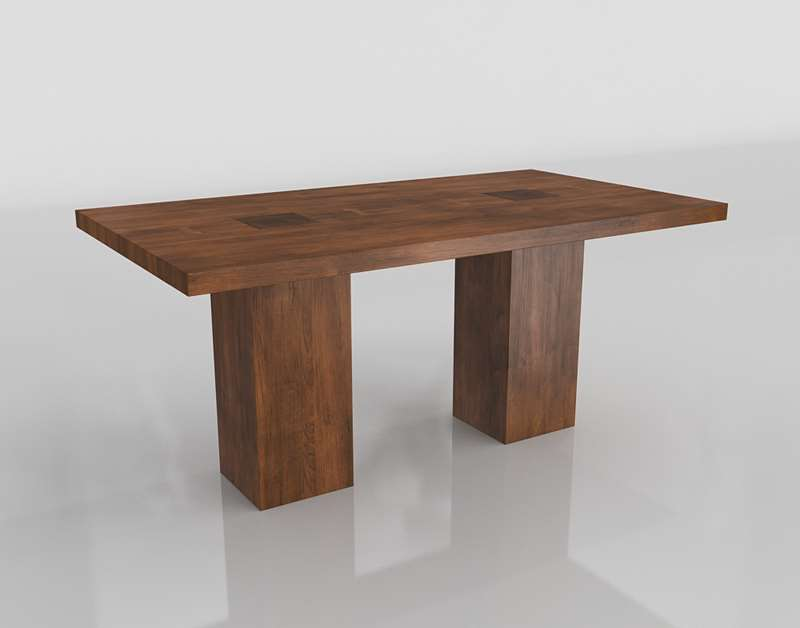 Arhaus Tao Dining Table Walnut