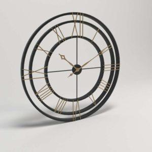 BirchLane Oversized Round Wall Clock