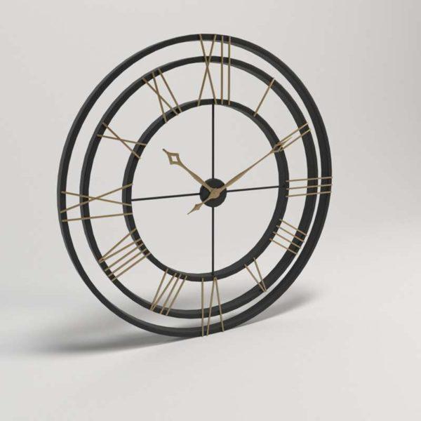 Reloj 3D de Pared BirchLane Transparente