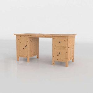 Mesa Escritorio 3D IKEA Hemnes