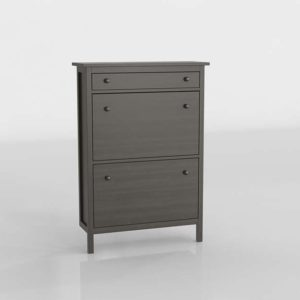 Armario Zapatero 3D IKEA Hemnes