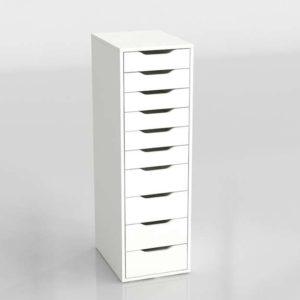 Cajonera 3D de Despacho IKEA Alex