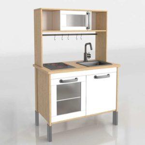 Cocina Infantil 3D IKEA Duktig
