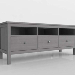 Mueble de TV 3D IKEA Hemnes