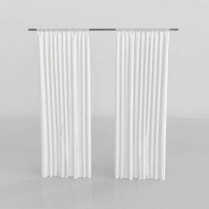 Cortina Interior 3D IKEA Lill
