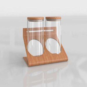 Botes de Cocina 3D IKEA Rimforsa