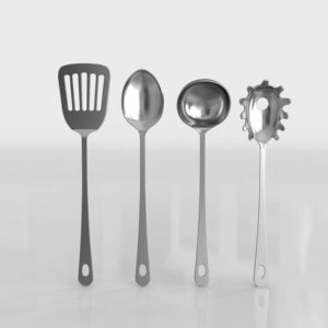 Utensilios de Cocina 3D IKEA Grunka