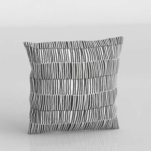 Vendla Funda De Cojin Diseño 3d Muebles Ikea