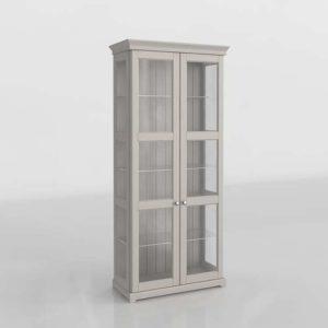 Liatorp Vitrina Diseño 3d Muebles Ikea