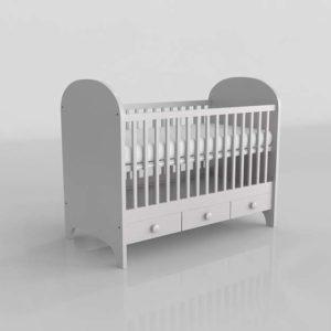 Gonatt Crib 3D Design IKEA