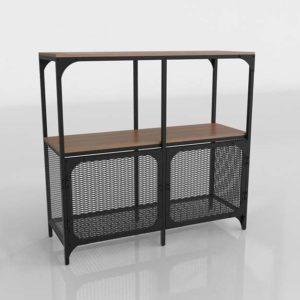 Fjallbo Shelving 3D Design IKEA