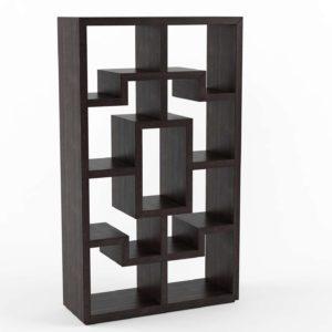 Brownstone Chelsea Onyx 3DBookcase ZincDoor