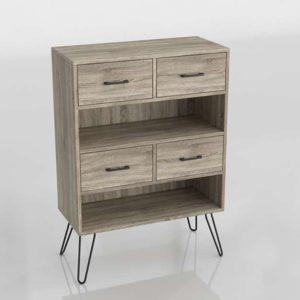 Ameriwood Home Landon 3D Bookcase Amazon