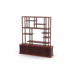 Shelving and Bookcases Modelado 3D Casa