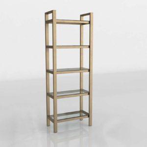 Pilsen 3D Bookcase СrateandBarrel