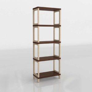 Thorsten 3D Bookcase Scandinavian Designs