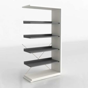 3D Interior Design Shelving and Bookcases GE3D34
