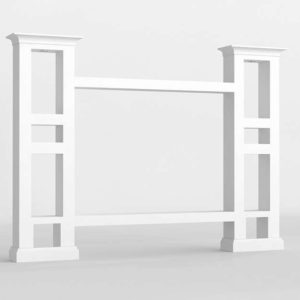 3D Design Shelving and Bookcases GE3D17