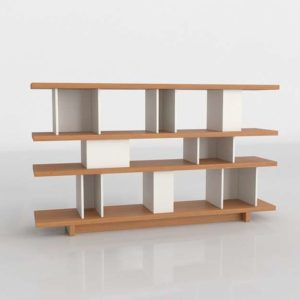 3D Design Shelving and Bookcases GE3D23