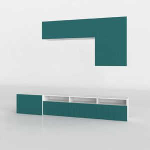 3D Design Shelving and Bookcases GE3D24