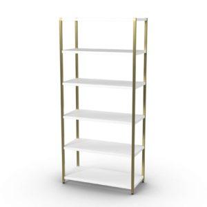 Zane Wide 3D Bookshelf Westelm