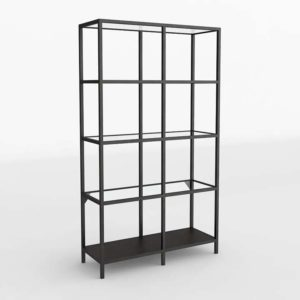 3D Interior Design Shelving and Bookcases GE3D25