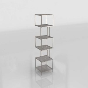 3D Interior Design Shelving and Bookcases GE3D30