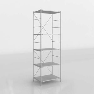 3D Interior Design Shelving and Bookcases GE3D31