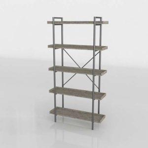 Brianna Standard Bookcase Birchlane 3D Design