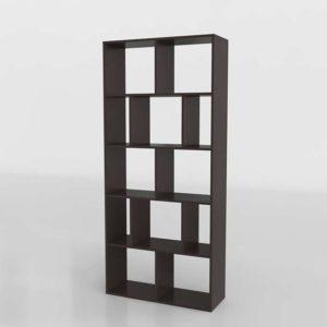 Mainstays Home 12 Shelf Bookcase Walmart w 3D