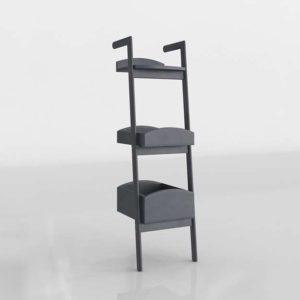 Addison Bookcase 3D Design